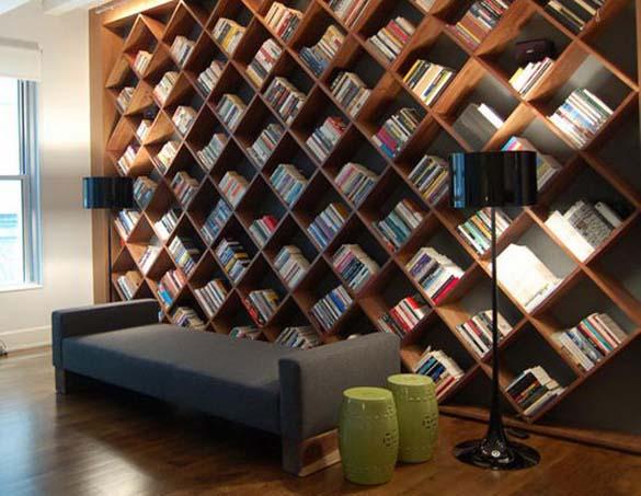 Εντυπωσιακές βιβλιοθήκες στο σπίτι (11)