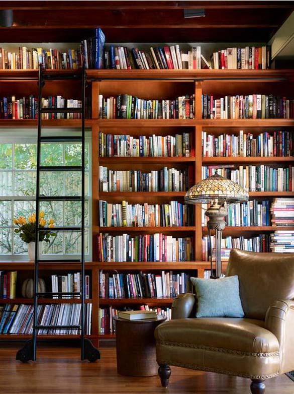 Εντυπωσιακές βιβλιοθήκες στο σπίτι (12)