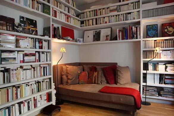 Εντυπωσιακές βιβλιοθήκες στο σπίτι (14)