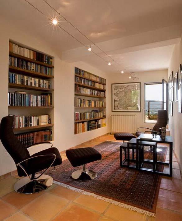 Εντυπωσιακές βιβλιοθήκες στο σπίτι (16)