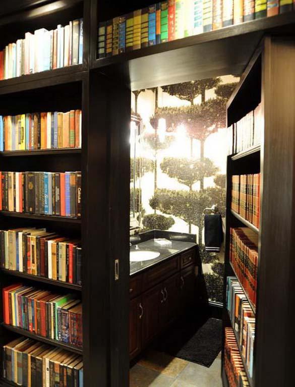Εντυπωσιακές βιβλιοθήκες στο σπίτι (17)