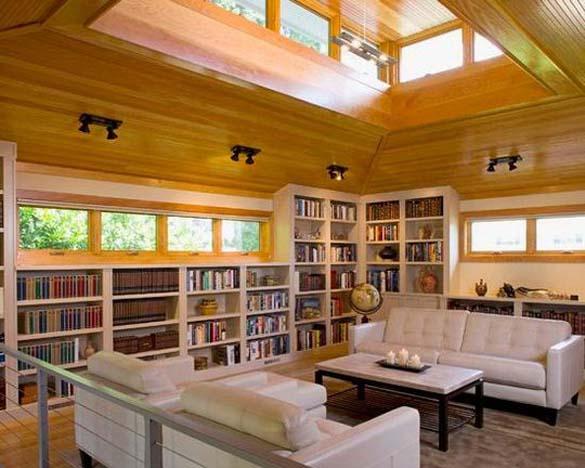 Εντυπωσιακές βιβλιοθήκες στο σπίτι (18)