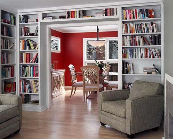 Εντυπωσιακές βιβλιοθήκες στο σπίτι (19)