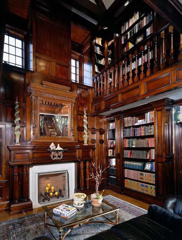 Εντυπωσιακές βιβλιοθήκες στο σπίτι (20)
