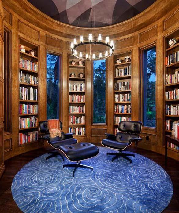 Εντυπωσιακές βιβλιοθήκες στο σπίτι (23)