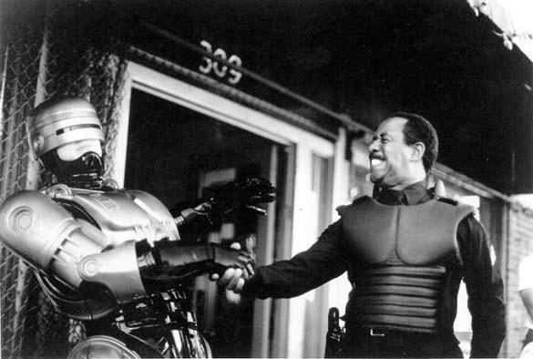 Σπάνιες φωτογραφίες από τα γυρίσματα του RoboCop (2)