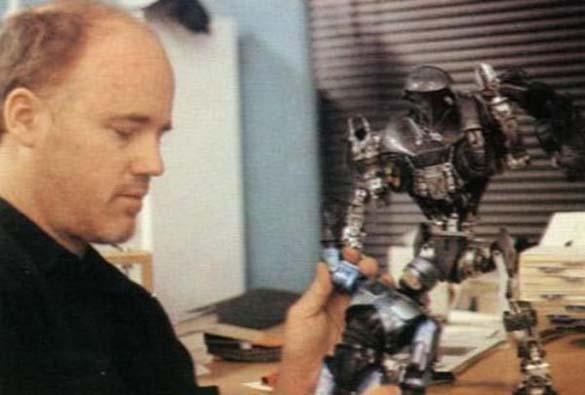 Σπάνιες φωτογραφίες από τα γυρίσματα του RoboCop (10)