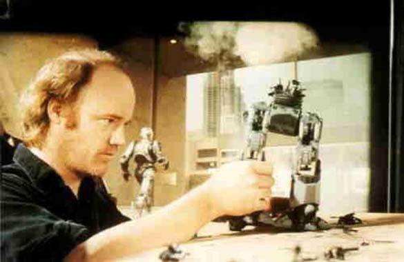 Σπάνιες φωτογραφίες από τα γυρίσματα του RoboCop (14)