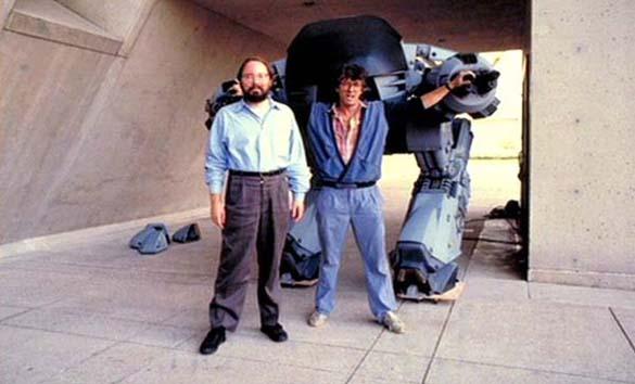 Σπάνιες φωτογραφίες από τα γυρίσματα του RoboCop (28)