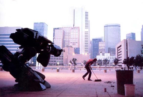 Σπάνιες φωτογραφίες από τα γυρίσματα του RoboCop (40)