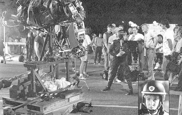 Σπάνιες φωτογραφίες από τα γυρίσματα του RoboCop (44)