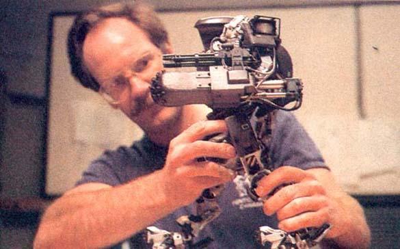 Σπάνιες φωτογραφίες από τα γυρίσματα του RoboCop (45)