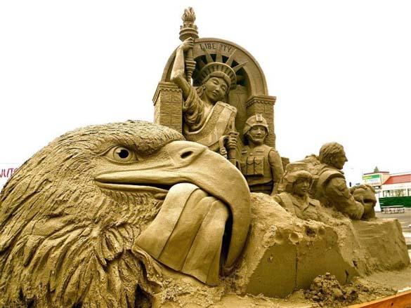 Γλυπτά από άμμο (3)