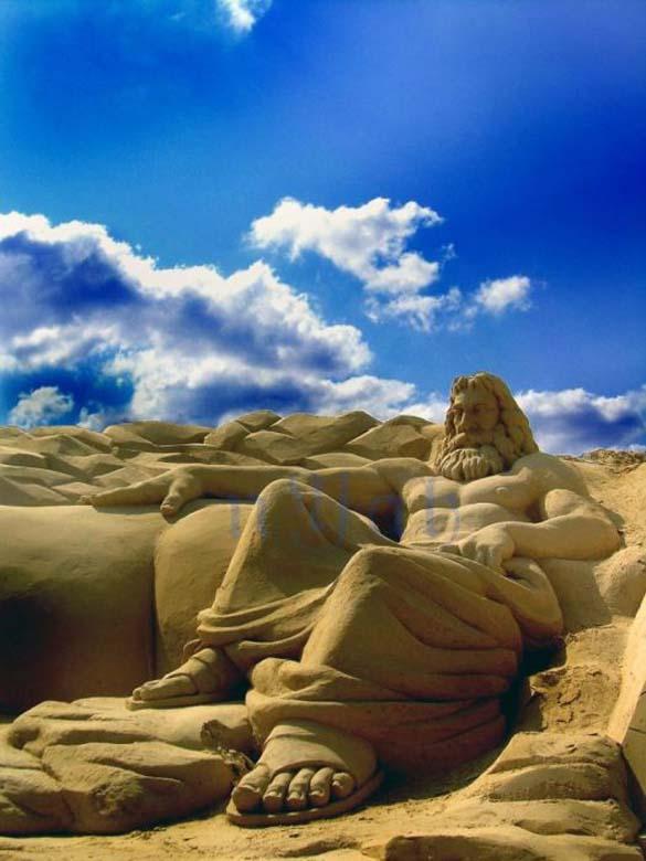 Γλυπτά από άμμο (4)