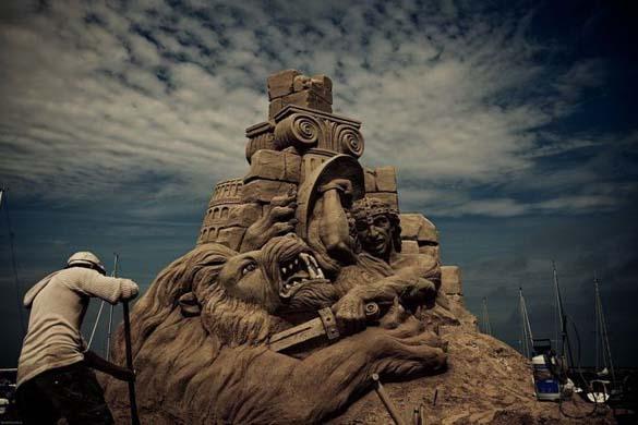 Γλυπτά από άμμο (9)