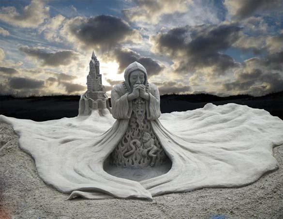 Γλυπτά από άμμο (14)