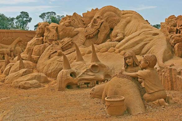 Γλυπτά από άμμο (15)