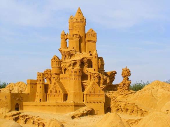 Γλυπτά από άμμο (17)