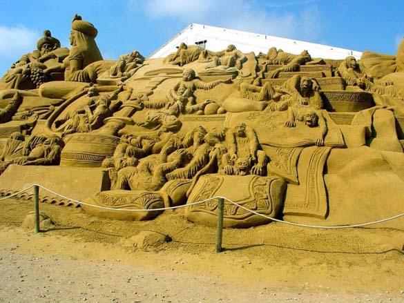 Γλυπτά από άμμο (20)