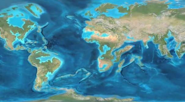 Πως ήρθαν στη σημερινή μορφή και πως θα είναι οι ήπειροι σε 100 εκατομμύρια χρόνια (1)