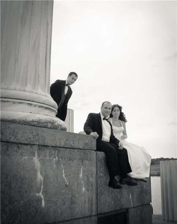 Καταστροφικές εισβολές σε γαμήλιες φωτογραφίες (2)