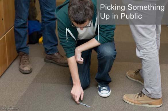 Καθημερινές δραστηριότητες: Πως το κάνεις δημόσια και πως όταν δεν σε βλέπουν (5)
