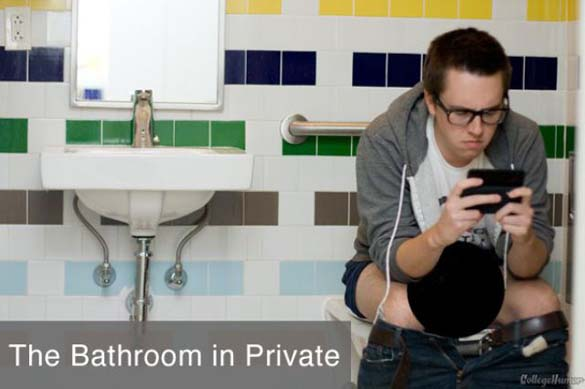Καθημερινές δραστηριότητες: Πως το κάνεις δημόσια και πως όταν δεν σε βλέπουν (8)