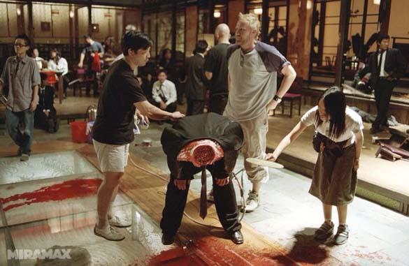 Στα παρασκήνια των αιματηρών σκηνών της ταινίας Kill Bill (1)