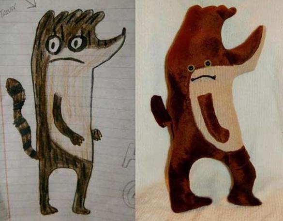 Αν οι παιδικές ζωγραφιές μετατρέπονταν σε παιχνίδια (21)