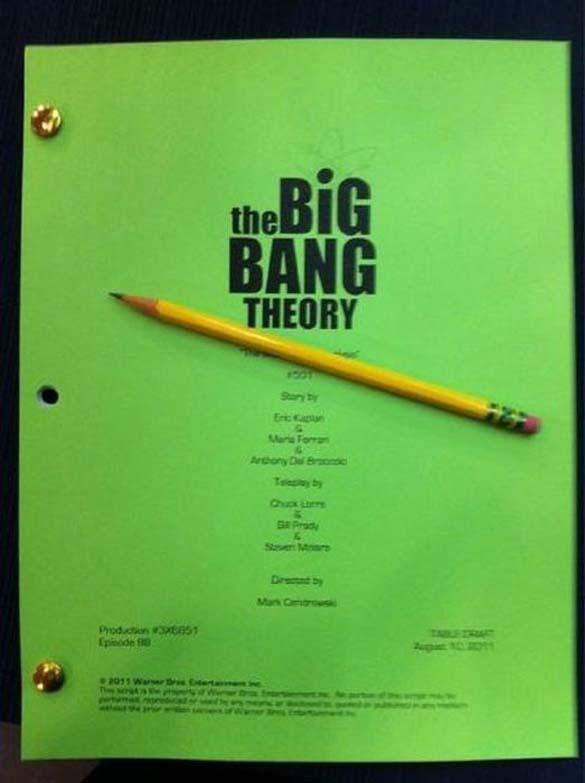 Στα παρασκήνια της σειράς «The Big Bang Theory» (1)