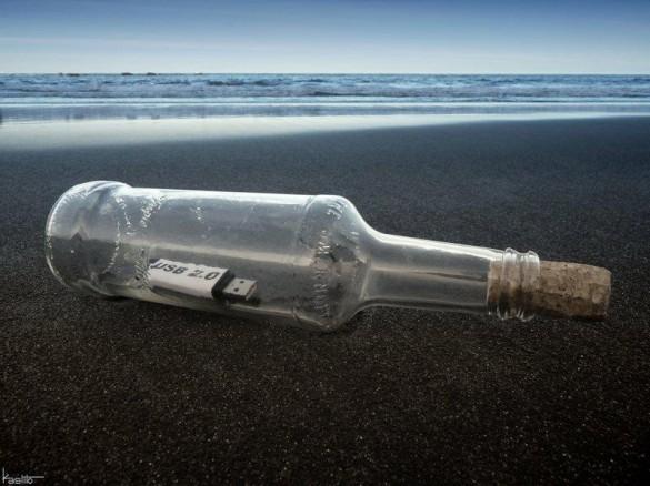 Μήνυμα σε μπουκάλι το 2012 | Φωτογραφία της ημέρας