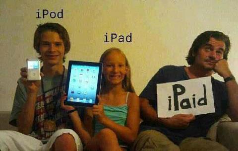 iPod, iPad και...   Φωτογραφία της ημέρας