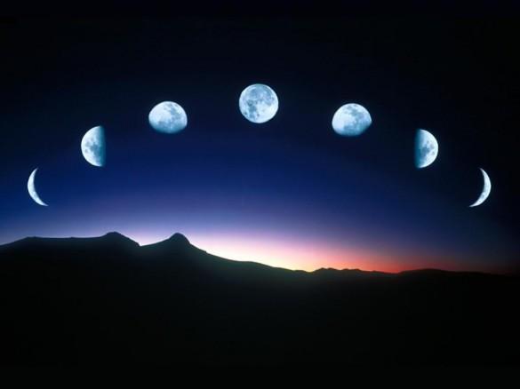 Οι φάσεις της Σελήνης | Φωτογραφία της ημέρας