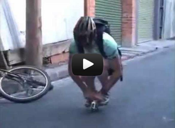 Το πιο μικροσκοπικό ποδήλατο στον κόσμο