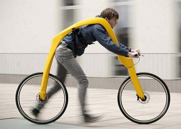 Πρωτοποριακό ποδήλατο χωρίς πετάλια