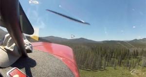 Συντριβή αεροσκάφους μέσα από το πιλοτήριο (Video)