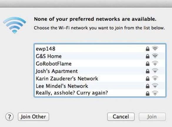 Αστεία και παράξενα ονόματα σε WiFi (3)