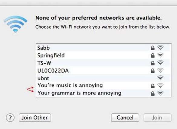 Αστεία και παράξενα ονόματα σε WiFi (4)