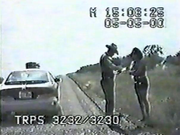 Αστυνομικός προβλέπει ατύχημα δευτερόλεπτα πριν συμβεί