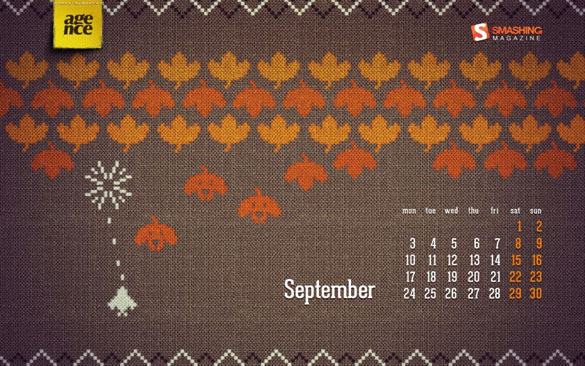 Wallpapers ημερολόγια Σεπτεμβρίου 2012 (2)