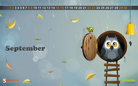 Wallpapers ημερολόγια Σεπτεμβρίου 2012 (3)