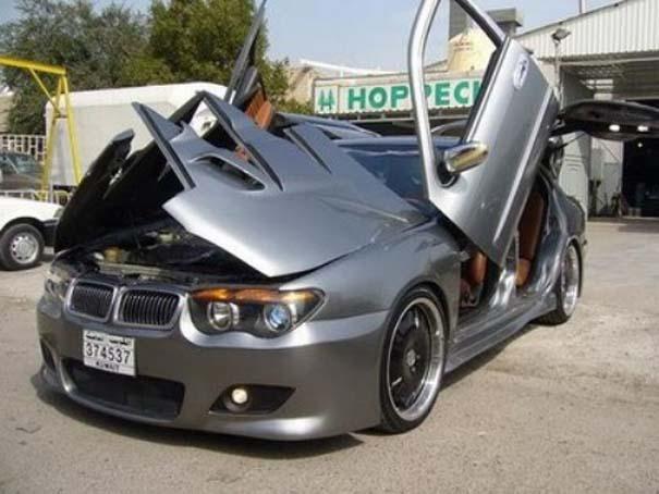 Ένα αυτοκίνητο που θυμίζει... πολυσουγιά! (1)
