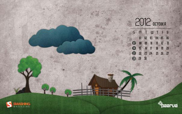 Wallpapers ημερολόγια Οκτωβρίου 2012 (3)