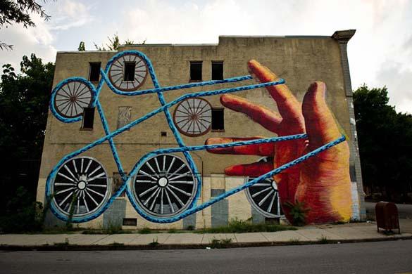 Εντυπωσιακά graffiti μεγάλης κλίμακας (10)