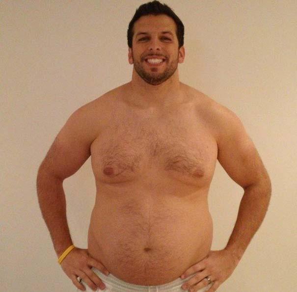 Fit2Fat2Fit: Personal Trainer έγινε παχύσαρκος και ξανά γυμνασμένος μέσα σε 1 χρόνο (10)
