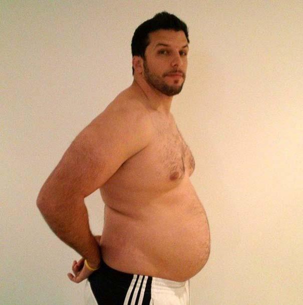 Fit2Fat2Fit: Personal Trainer έγινε παχύσαρκος και ξανά γυμνασμένος μέσα σε 1 χρόνο (11)