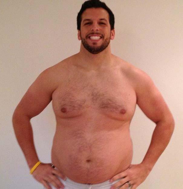 Fit2Fat2Fit: Personal Trainer έγινε παχύσαρκος και ξανά γυμνασμένος μέσα σε 1 χρόνο (12)