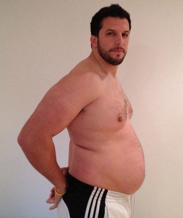 Fit2Fat2Fit: Personal Trainer έγινε παχύσαρκος και ξανά γυμνασμένος μέσα σε 1 χρόνο (13)