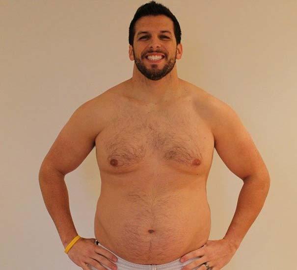 Fit2Fat2Fit: Personal Trainer έγινε παχύσαρκος και ξανά γυμνασμένος μέσα σε 1 χρόνο (18)