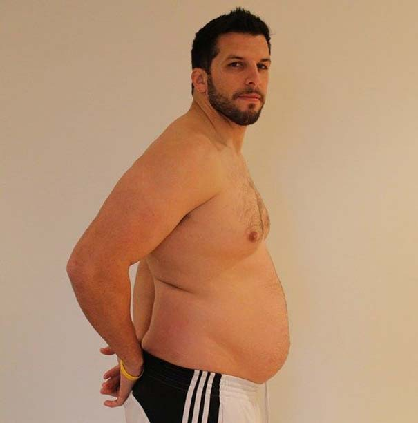 Fit2Fat2Fit: Personal Trainer έγινε παχύσαρκος και ξανά γυμνασμένος μέσα σε 1 χρόνο (19)